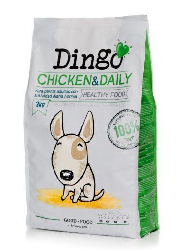 Koiran kuivaruoka Dingo Chicken & Daily