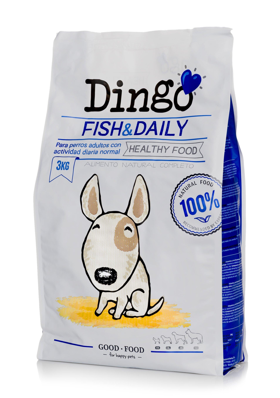 Koiran kuivaruoka Dingo Fish & Daily