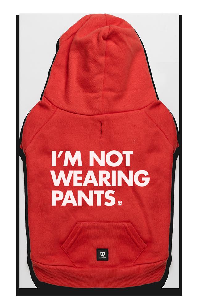 Not wearing pants huppari