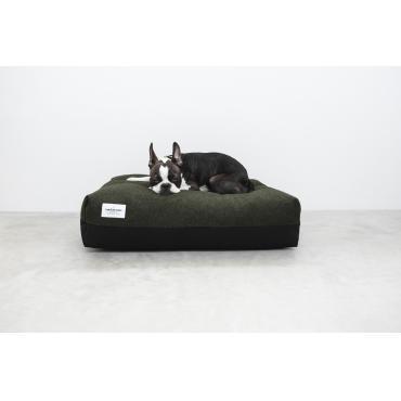 Doze (edition) koiranpeti tumman vihreä/musta