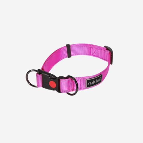 Pinkki edullinen kaulapanta koiralle