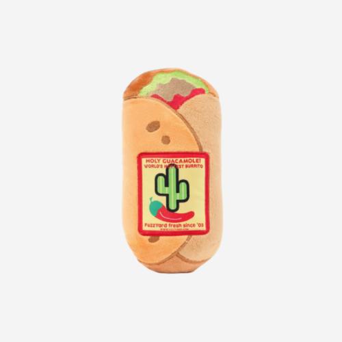 Vinkuva pehmolelu koiralle burrito
