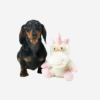 Koiran vinkuva pehmolelu yksisarvinen