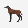 Ruskea Rukka Comfy takki koiralle