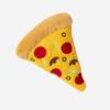 Vinkuva pizzan mallinen pehmolelu koiralle